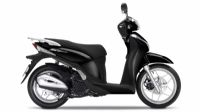 colori - SH Mode 125 - Poseidon Black Metallic